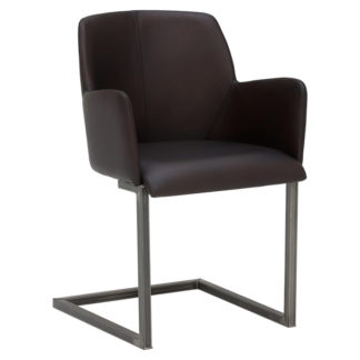 An Image of Channing Leather Dining Chair