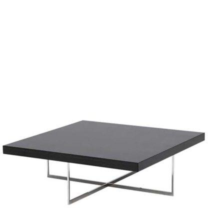 An Image of Borgia Square Coffee Table Grey Highgloss