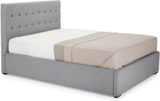 An Image of Finlay King Size Ottoman Storage Bed, Persian Grey