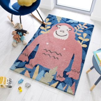 An Image of Jungle Monkey Rug Natural (Brown)