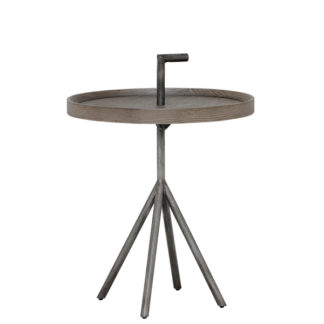 An Image of Pamber 40cm Round Side Table