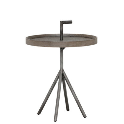 An Image of Pamber 45cm Round Side Table