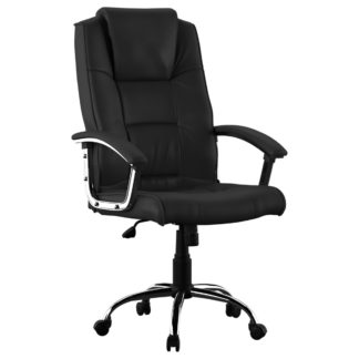 An Image of Houston Office Chair Black