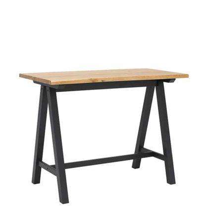 An Image of Dandelyan Bar Table White Oak