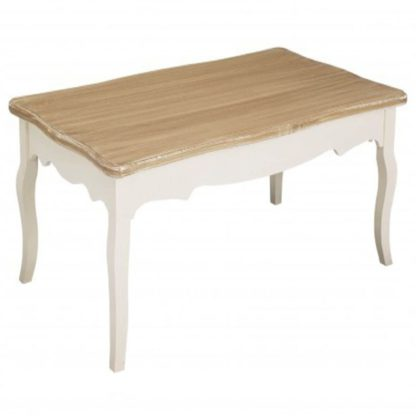 An Image of Juliette Coffee Table White and Brown