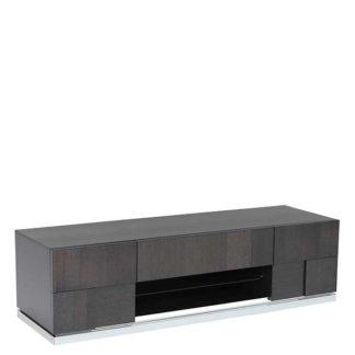 An Image of Borgia TV Unit Grey Highgloss
