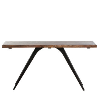 An Image of Vega Solid Oak Console Table