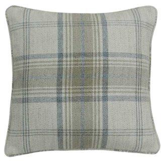 An Image of Cream Tartan Cushion