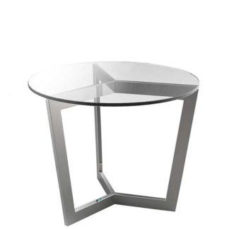 An Image of Reflect Glass Side Table Crystal