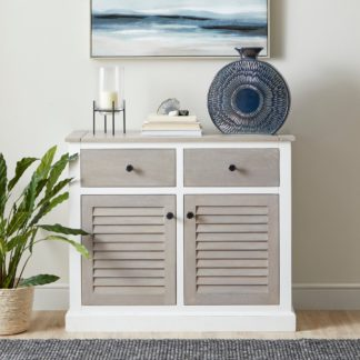 An Image of Harbor Small Sideboard White