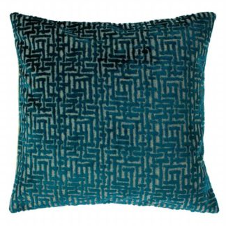 An Image of Deco Teal Cushion