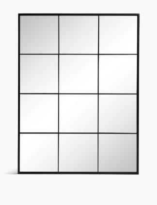 An Image of M&S Simple Manhattan Mirror