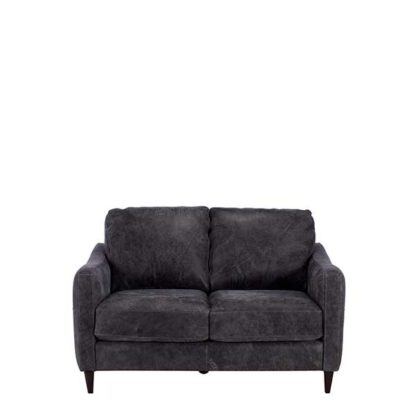 An Image of New Vincenzo Leather Loveseat
