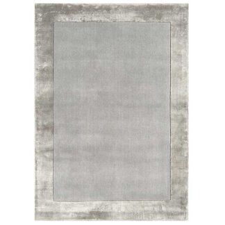An Image of Ascot Rug Silver
