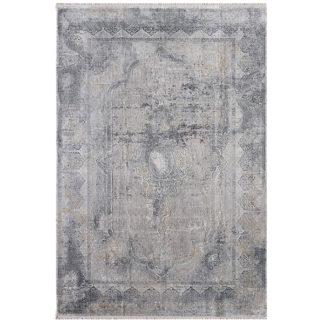 An Image of Artisan Rug Metallic Grey