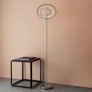 An Image of LED Atoka Floor Lamp Chrome