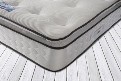 An Image of Sealy 1400 Pocket Sprung Memory Pillowtop Double Mattress