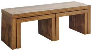 An Image of Jakarta Nest of 3 Tables - Mango Wood Effect