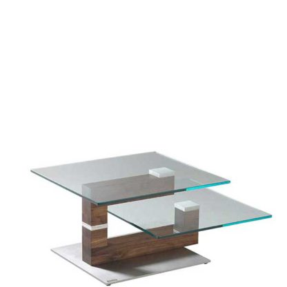 An Image of V Plus Walnut Coffee Table
