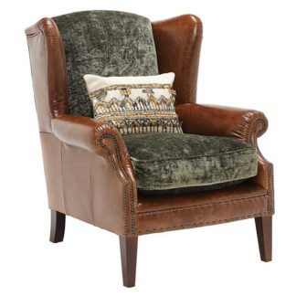 An Image of Tetrad Constable Wingback Chair