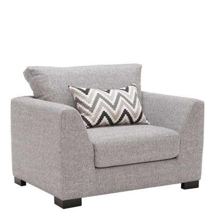 An Image of Milford Fabric Armchair Vegas Zinc