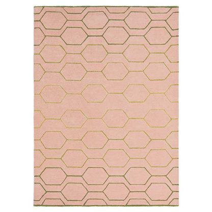 An Image of Arris Rug Pink