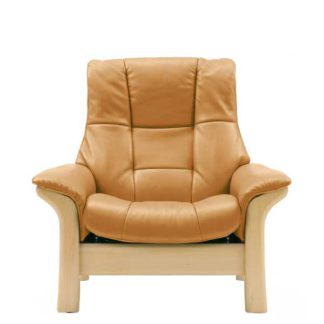 An Image of Stressless Buckingham High Back Chair Choice of Leather