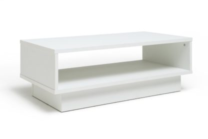 An Image of Habitat Cubes Coffee Table - White