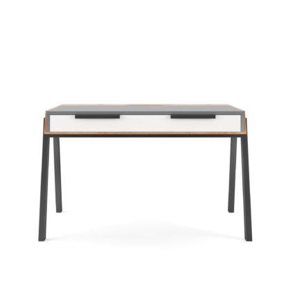 An Image of Geneva Desk Grey