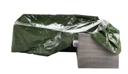 An Image of Argos Home Heavy Duty L Shaped Garden Cover