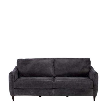 An Image of New Vincenzo Leather Sofa