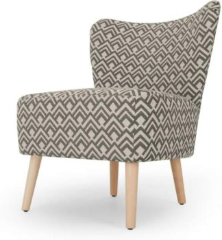 An Image of Charley Accent Chair, Sky Geo Weave