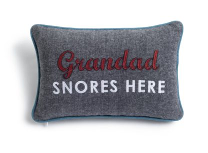 An Image of Argos Home Grandad Cushion