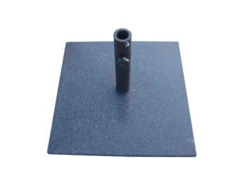 An Image of Argos Home Granite Parasol Base - Black