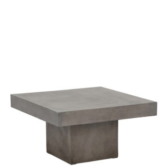 An Image of Geradis Campos Large Coffee Table Concrete