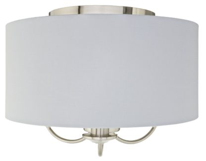 An Image of Argos Home Highland Lodge Flush to Ceiling Light