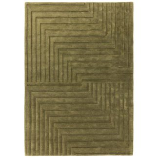 An Image of Form Rug Green