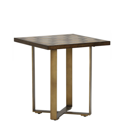 An Image of Facet Lamp Table