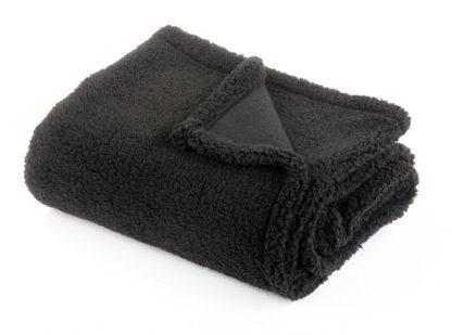 An Image of Argos Home Cosy Throw - 125x150cm - Stone