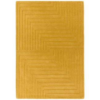 An Image of Form Rug Ochre