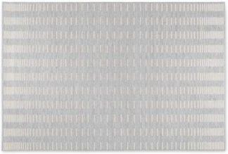 An Image of Ozzie Indoor/ Outdoor Flat Weave Rug, Large 160 x 230cm, Light Grey