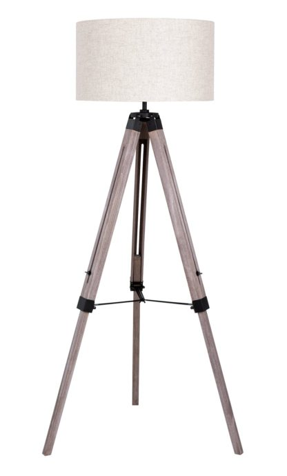 An Image of Argos Home Highland Lodge Colonial Tripod Floor Lamp