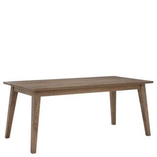 An Image of Hancock Dining Table Salvage Deep Grey