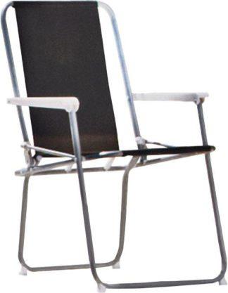 An Image of Argos Home Metal Folding Picnic Chair - Black