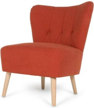 An Image of Charley Accent Chair, Retro Orange
