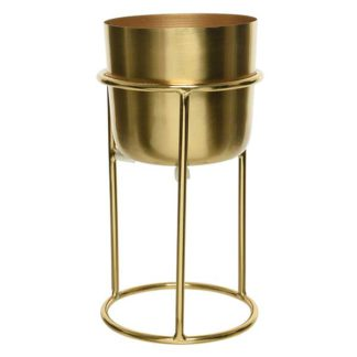 An Image of Gold Planter