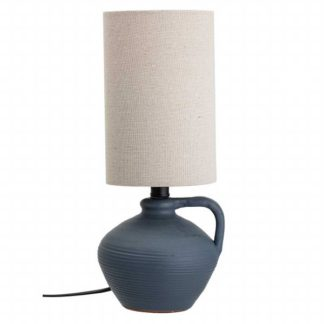 An Image of Ceramic Table Lamp Black
