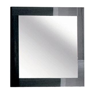 An Image of Borgia Bedroom Mirror Grey High Gloss