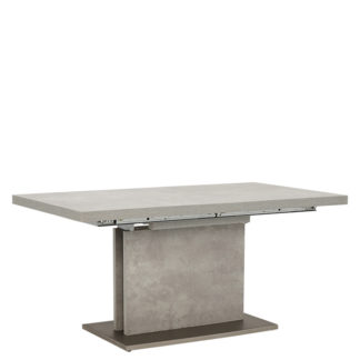 An Image of Halmstad Extending Dining Table Concrete