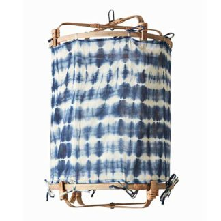 An Image of Hanging Tie Dye Decorative Shade Blue